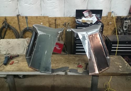 fabricating front bumper