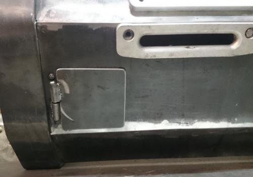 fabricating front bumper winch mount
