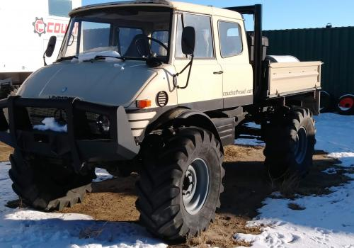 416 extended cab Unimog