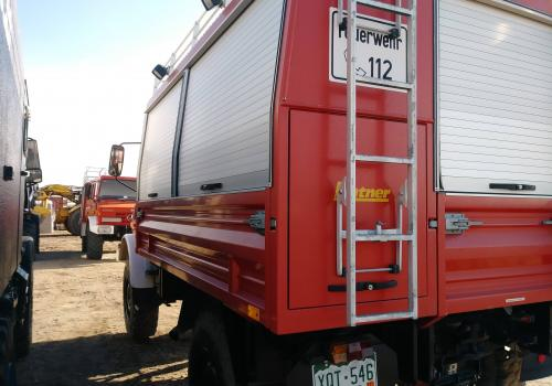 worktruck unimog ladder boxes 1300L