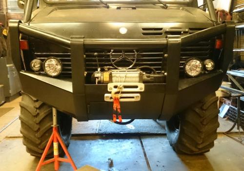 RA 6 Bumper with lights