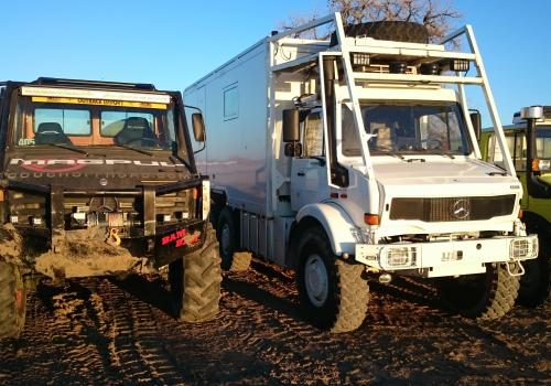 BAM BAM Unimog and UNICAT Unimog expedition camper