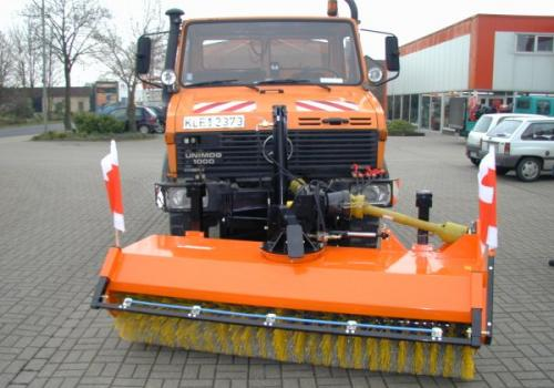 Mercedes Benz Unimog Street Sweeper