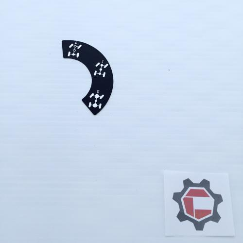 Diff lock selector decal