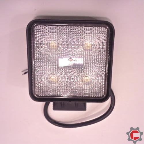 15W (5 3 watt) Square LED Work Light for Unimogs and Gwagens