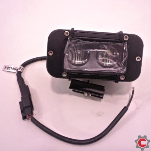 Flood Beam 2 10watt bulb LED Light Bar for Unimogs and Gwagons