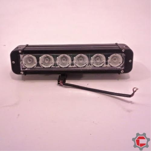 60 watt (6 10watt bulb) LED Light Bar for Unimogs and G-wagens