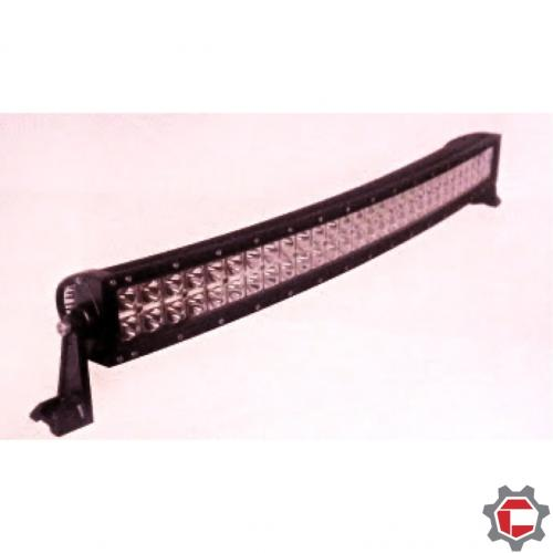 288W (96 3 watt bulbs) Curve LED Light Bar Double stack for Unimog and G wagons