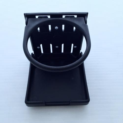 Folding cup holder for Mercedes Benz G wagons and Unimogs
