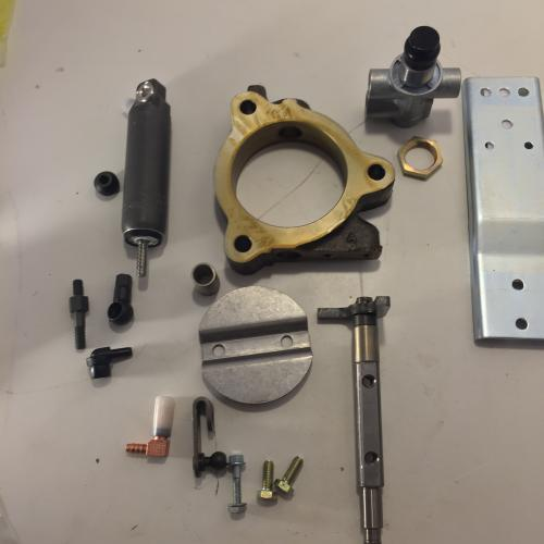 Shown with Bracket, Cylinder and Foot Valve
