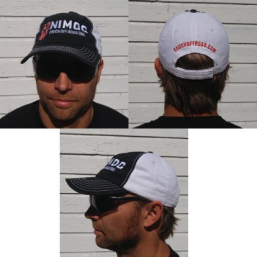 Couch Off-Road Baseball Hat Black and White