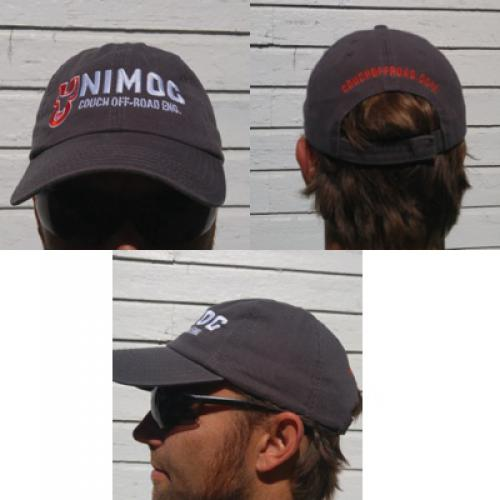 Couch Off-Road Baseball Hat Charcoal Grey