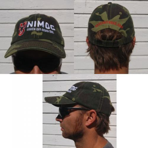 Couch Off-Road Baseball Hat Green CAMO