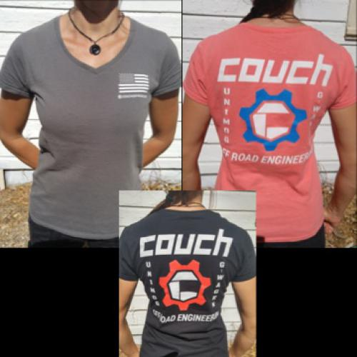 COUCH OFF-ROAD WOMANS T-SHIRTS